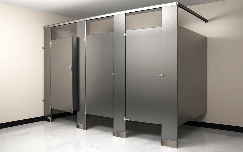 Fascinating 30 bathroom partition gap filler decorating for Bathroom partitions