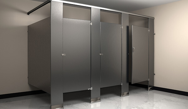 Flush Metal Partitions Bathroom Partitions Toilet Partitions - Custom bathroom partitions