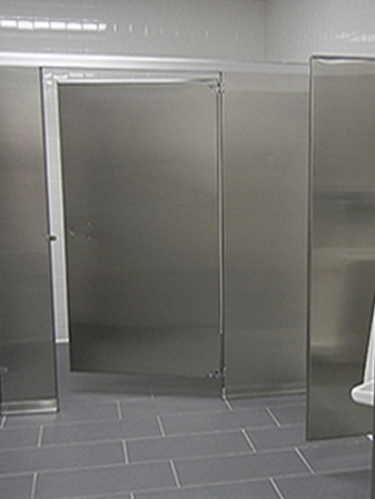 Custom Toilet Partitions by Flushmetal